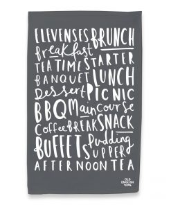 Old-English-Company-Meal-Names-Tea-Towel-Grey