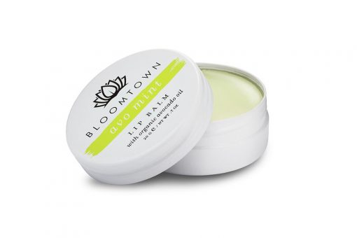 In-the-box-gifts-bloomtown-avo-mint-lip-balm