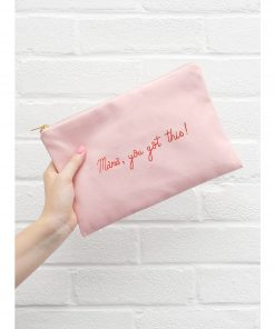 Alphabet-Bags-Mama-You-Got-This-Large-Pink-Pouch-Canvas-Bag-003