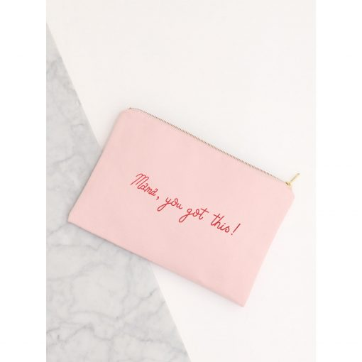 Alphabet-Bags-Mama-You-Got-This-Large-Pink-Pouch-Canvas-Bag-004