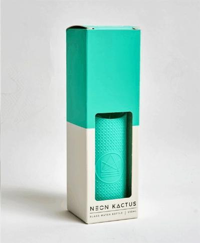 aqua-Neon-Kactus-glass-water-bottle-In-the-box-gifts-002
