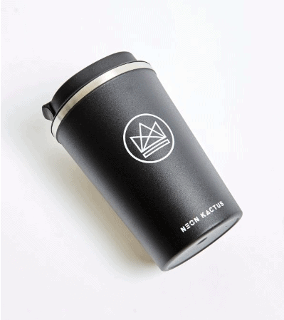 black-Neon-Kactus-Reusable-Coffee-Cup-In-the-box-gifts