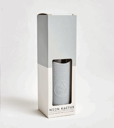 grey-Neon-Kactus-glass-water-bottle-In-the-box-gifts-002